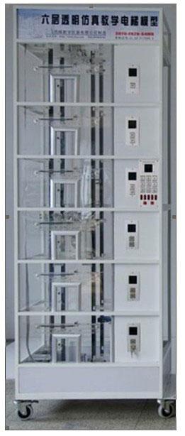 并联控制电梯(2-3台电梯的控制线路并联,进行逻辑控制,共用层站外
